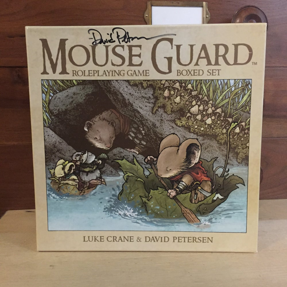 Image of Mouse Guard RPG Boxed Set *SIGNED*