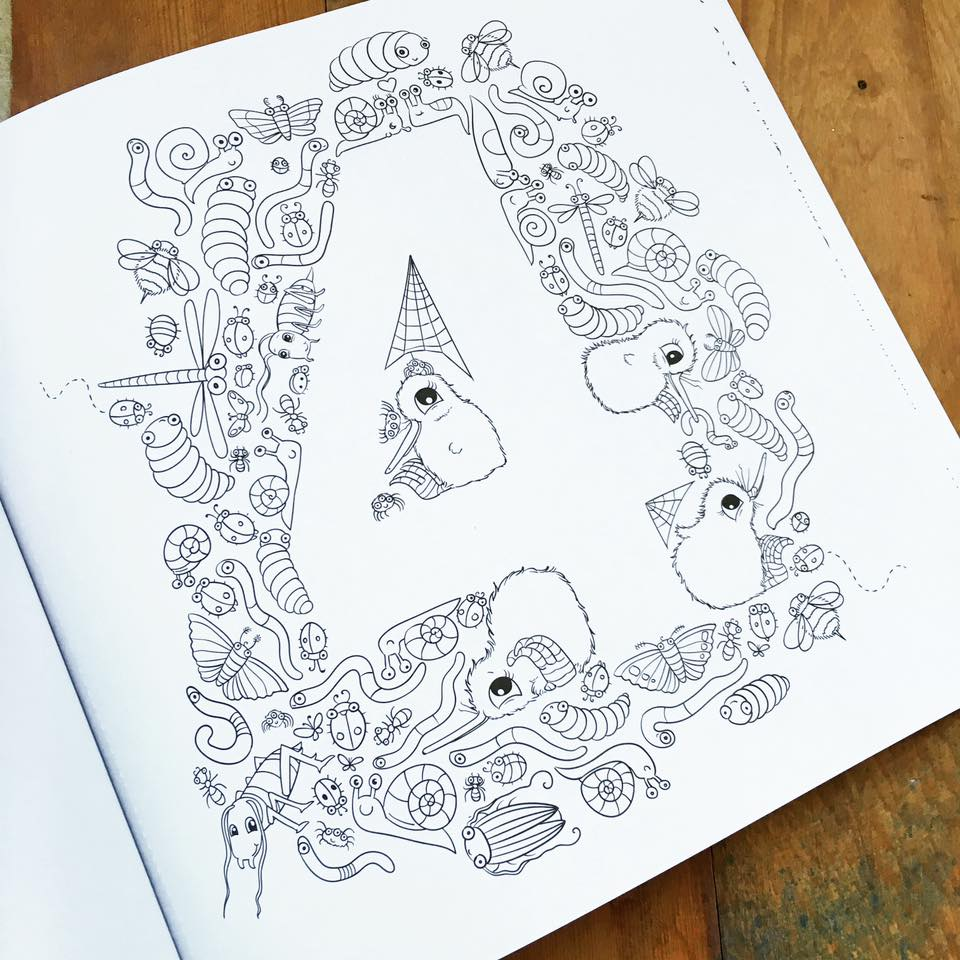 Image of Kuwi's Creative Colouring Book