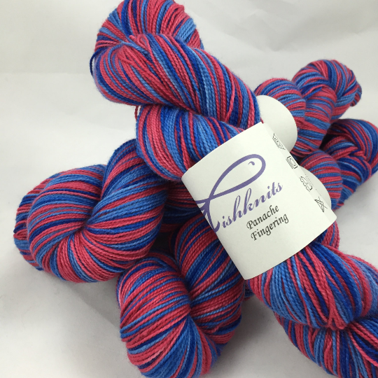 Image of Superman: Superwash Strong Heart Self Striping Sock Yarn