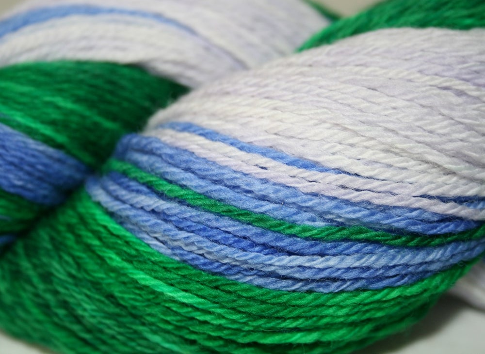 Image of Wisteria: Gradient Sock Yarn on Discontinued Wonder Tweed base