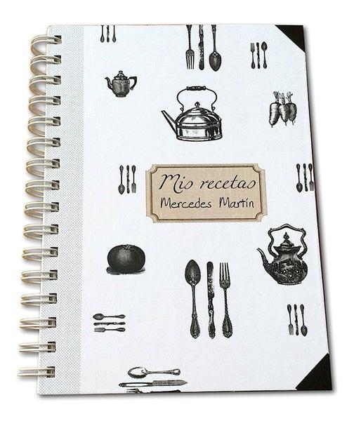 Image of Recetario de cocina personalizable