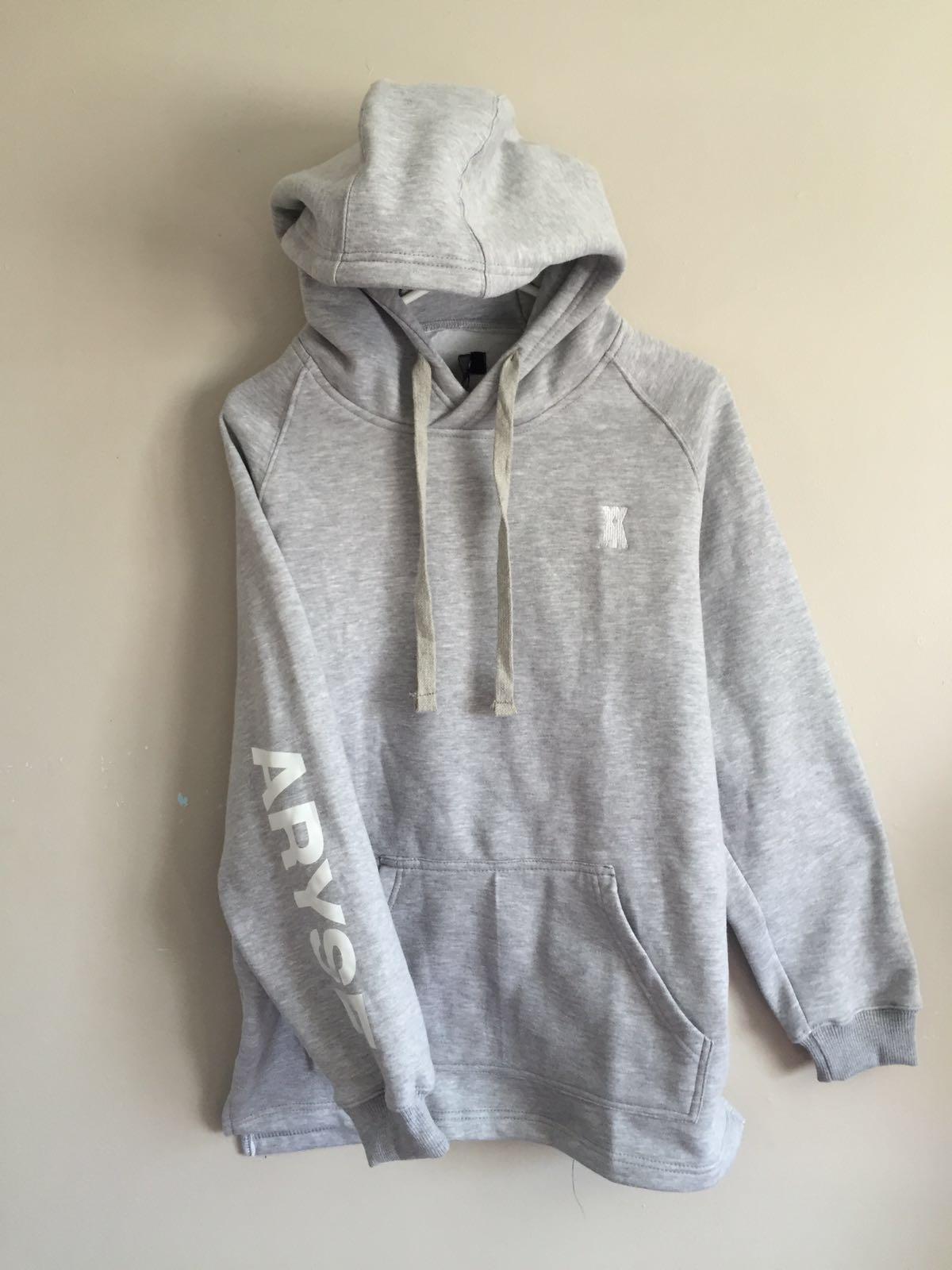 Image of Untitled Hoodie - Grey