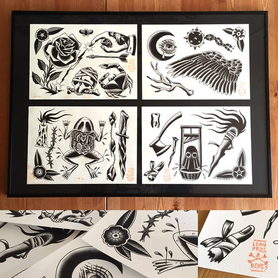 Image of Prints Black Work