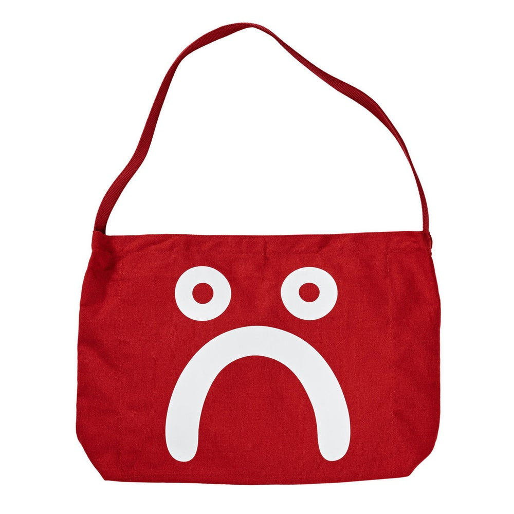 Image of POLAR HAPPY SAD TOTE RED