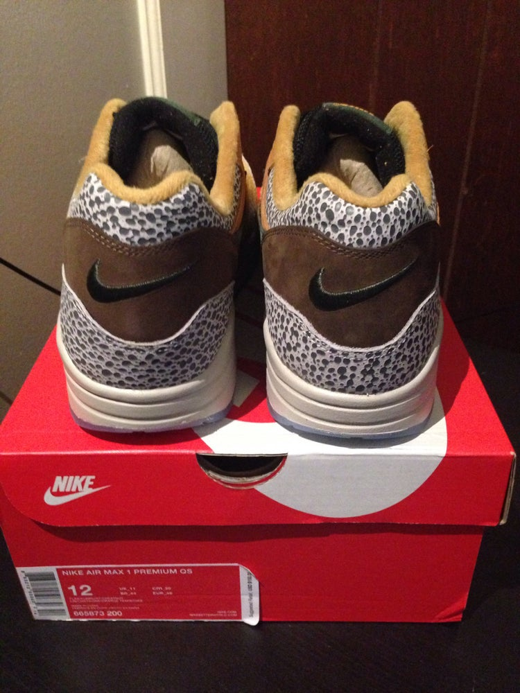 "Image of Nike Air Max 1 Premium QS ""Safari"""