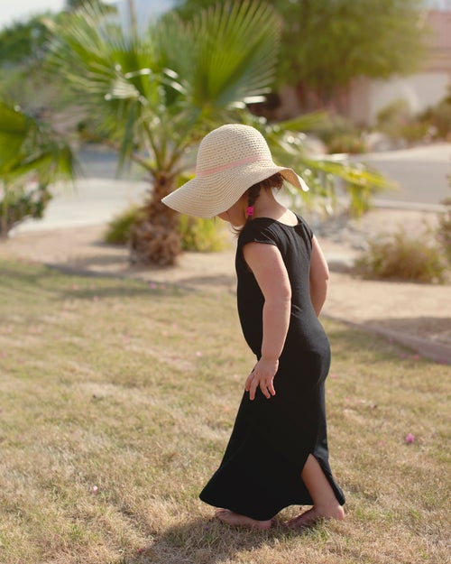 Image of Black Maxi Dress