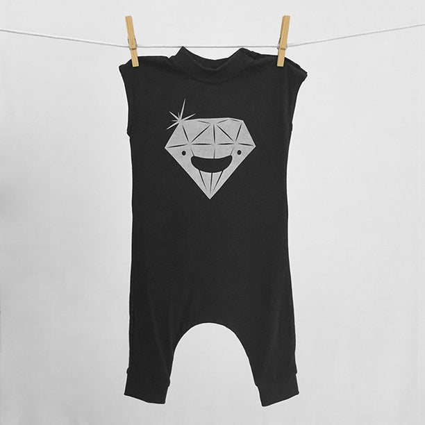 "Image of ""Diamond"" Black Bodysuit"
