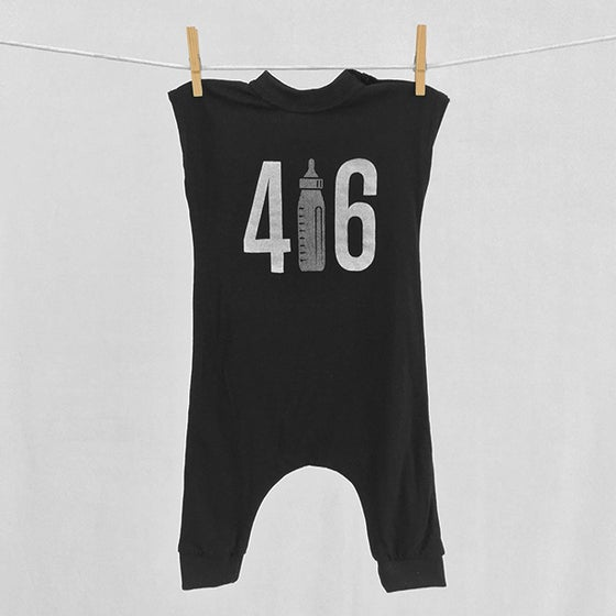 "Image of ""416"" Black Bodysuit"