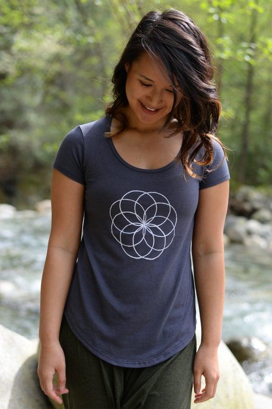 Image of Mandala Bamboo T-shirt Unity