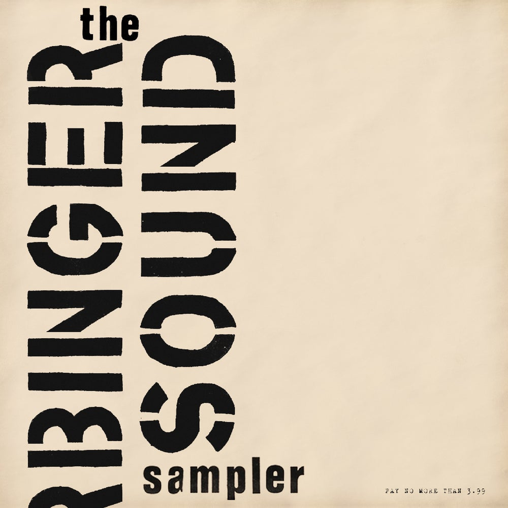 Image of Various - A Harbinger Sound Sampler 2LP Set