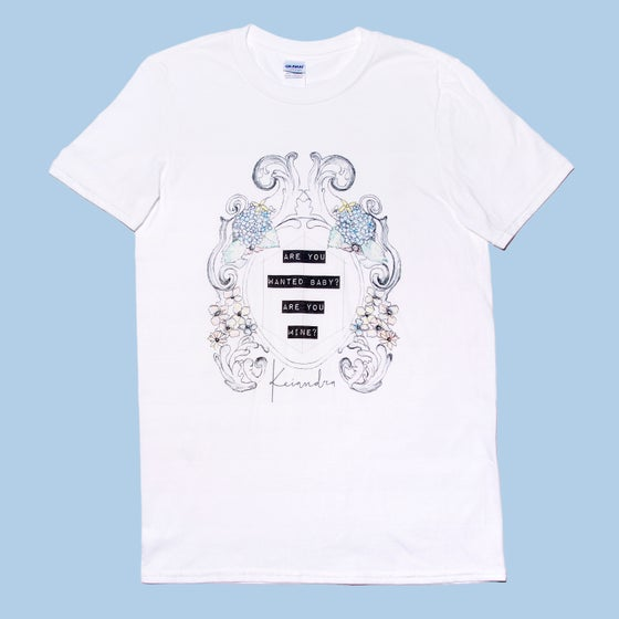 "Image of ""Wanted"" T-Shirt - White"