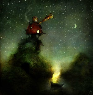 """The Astronomer"" - Alexander Jansson Shop"