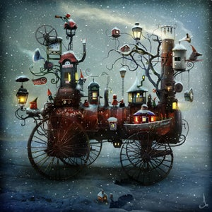 """Big Snowy"" - Alexander Jansson Shop"
