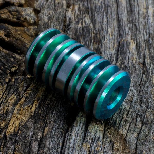 Image of Green Triple Bead Set #1