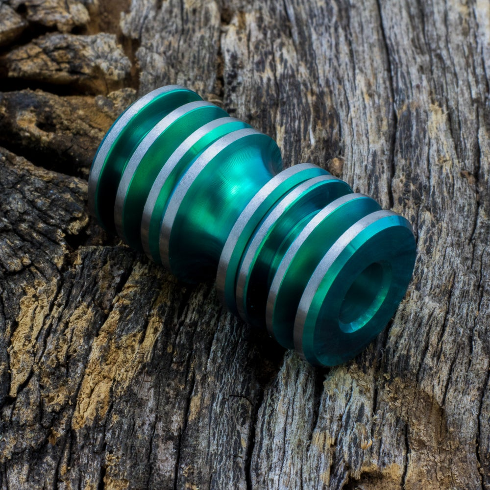 Image of Green Triple Bead Set #2
