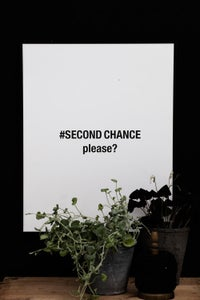 Image of Plakat: Second Chance