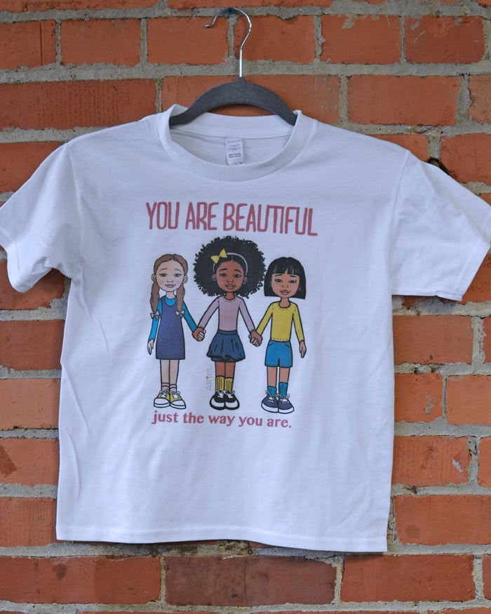 Image of You are Beautiful Raglan T-Shirt