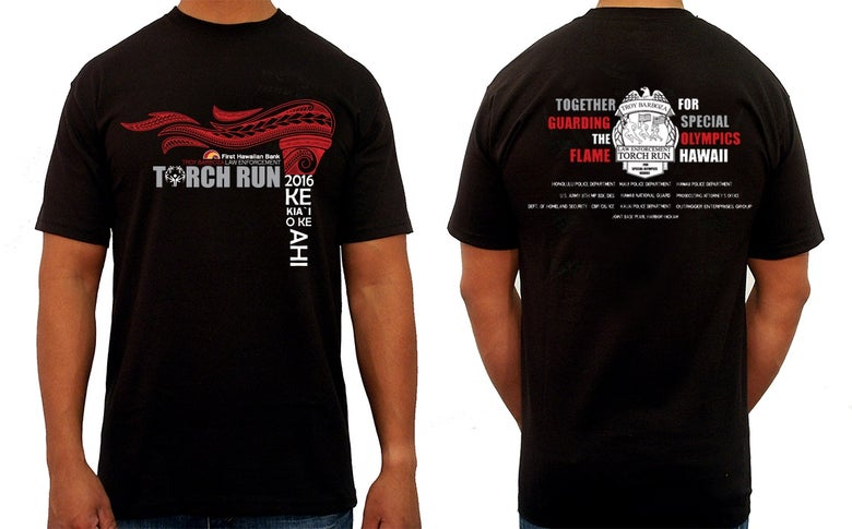 Image of 2016 Torch Run Shirts