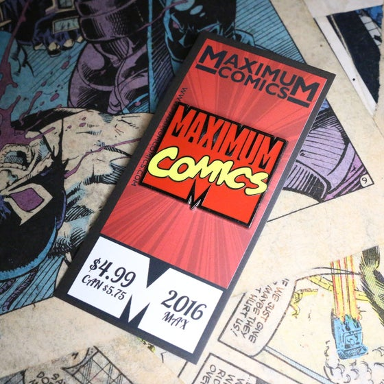 Image of Maximum Comics Pin