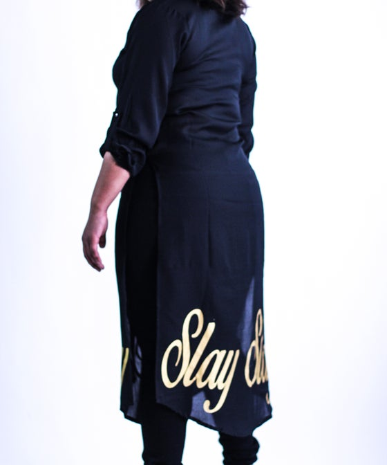 Image of Slay Button Gown