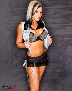 "Image of Velvet Sky ""Rock n Roll""  18x24 signed poster"