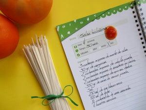 Image of Cuaderno de recetas