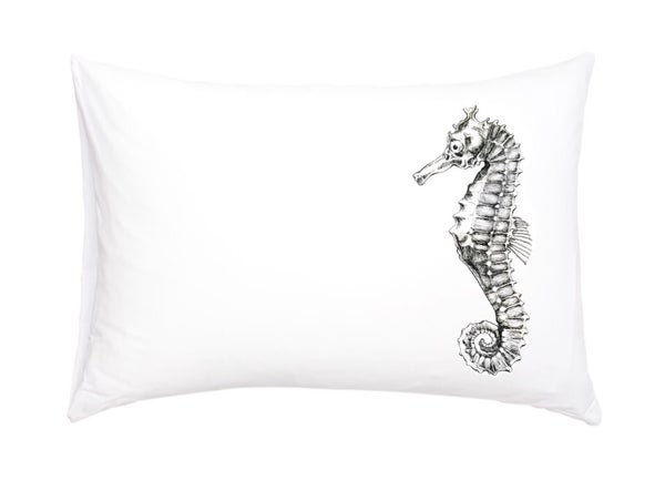 Image of Seahorse Pillowcase