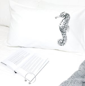 Image of Seahorse Pillowcase