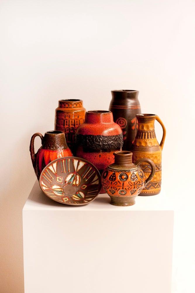 Image of Pieza cerámica esmaltada / Francia / Años 70