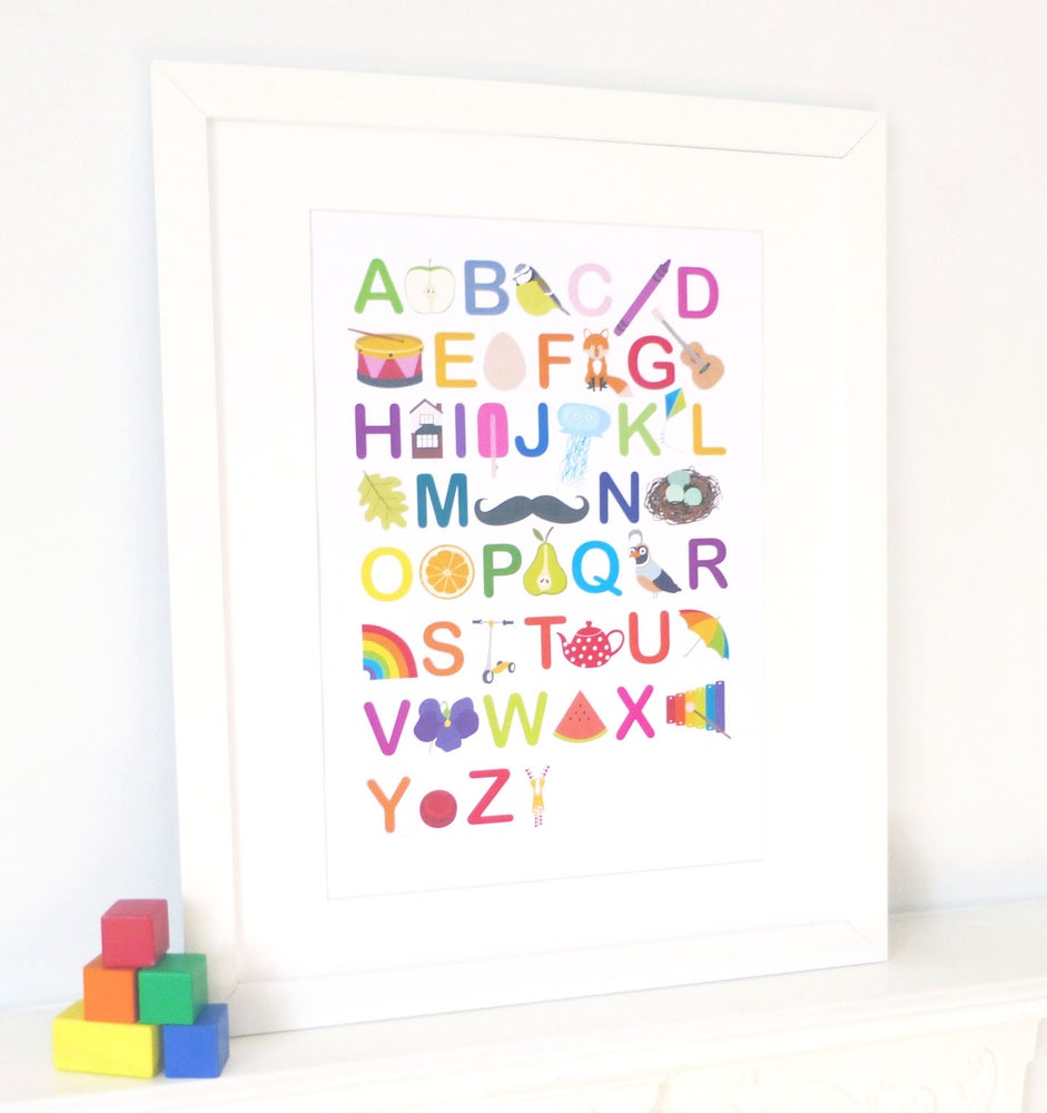 Image of Illustrated Alphabet