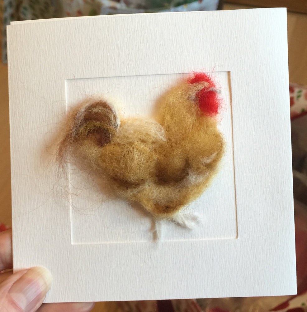Image of Chicken Card