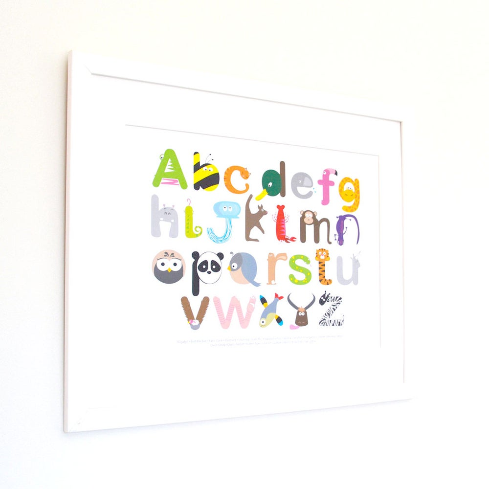 Image of Animal Alphabet - Landscape