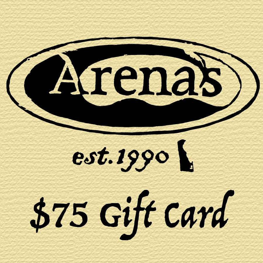 Image of Arena's $75 Gift Card