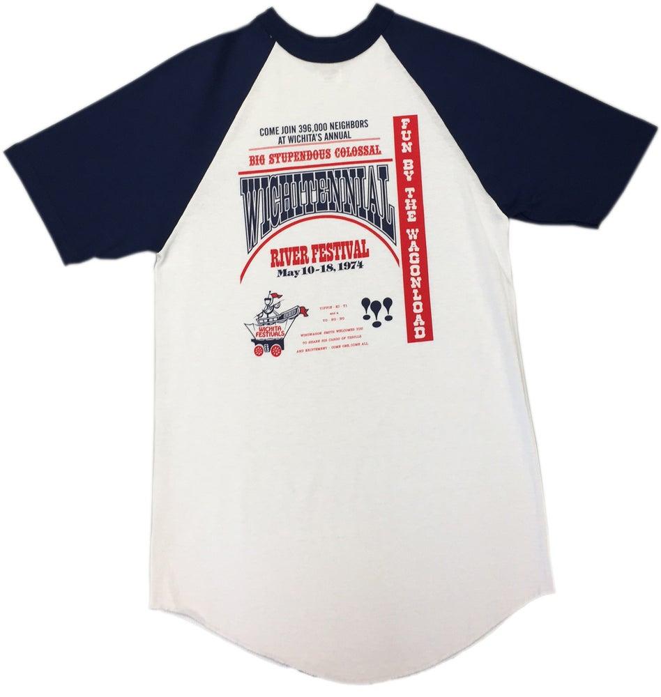 Image of Vintage Poster Baseball Shirt