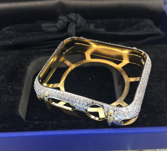 Image of Diamond Apple iWatch Case