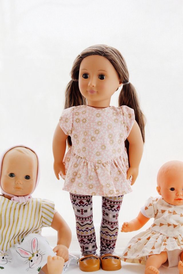 The Doll Manhattan Blouse Dress See Kate Sew