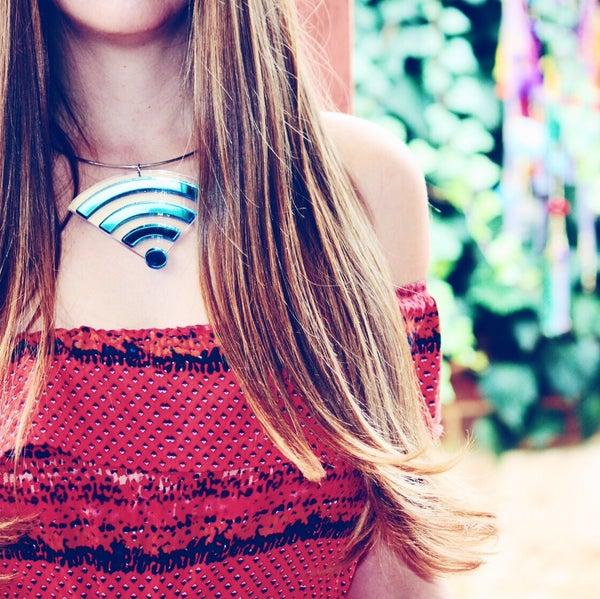 Image of Wifi Choker  Marina Fini 