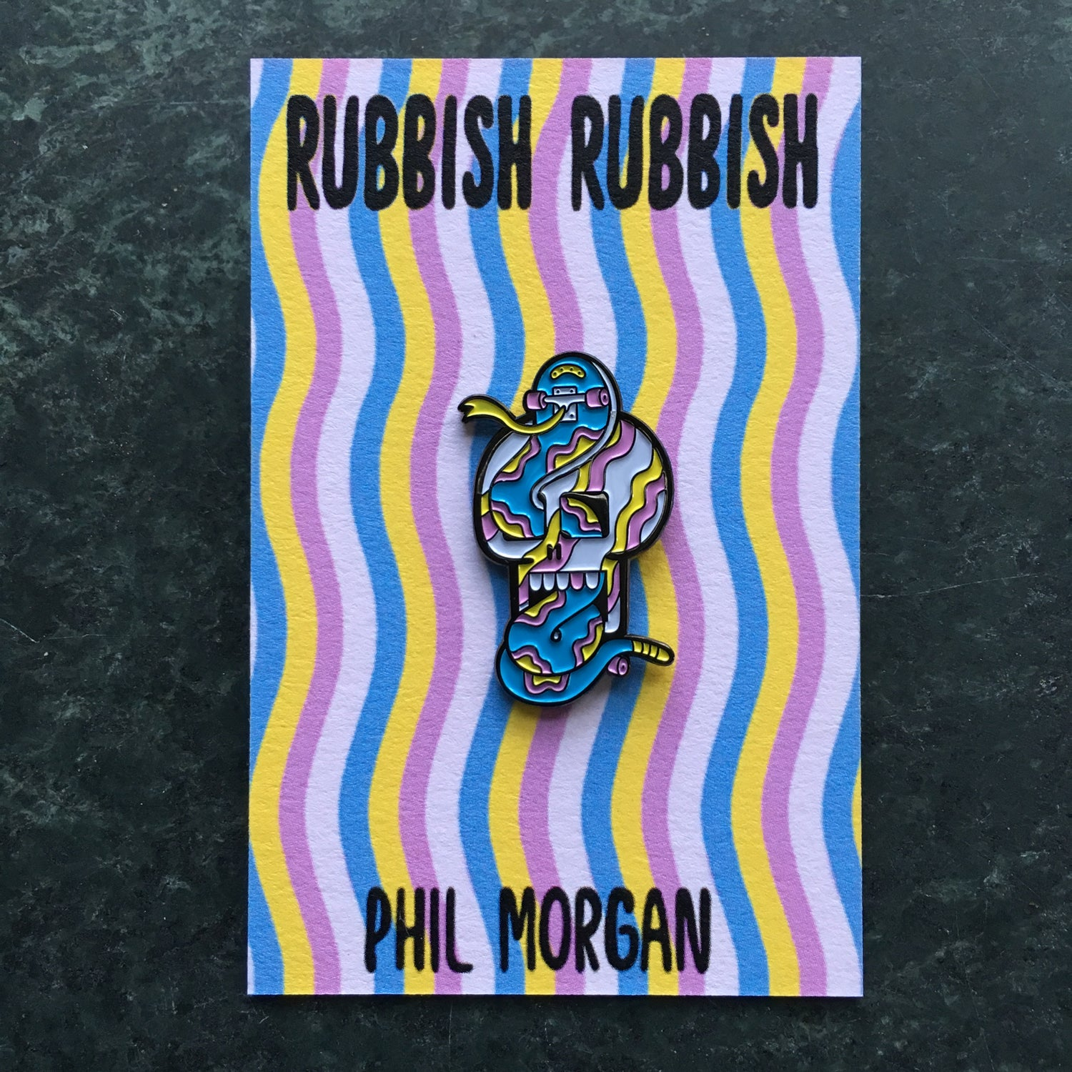 Image of Rubbish Rubbish 28 Phil Morgan