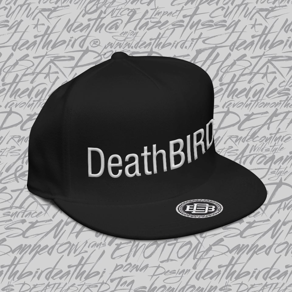 Image of Logotype Black Snapback
