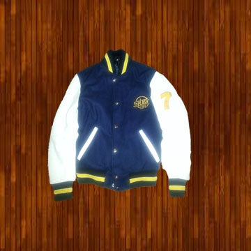 Image of Yellow and Blue Letterman