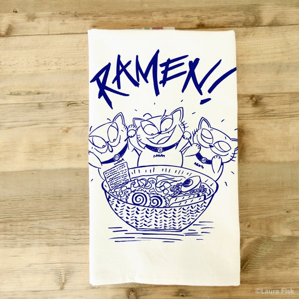 Image of Ramen Tea Towel
