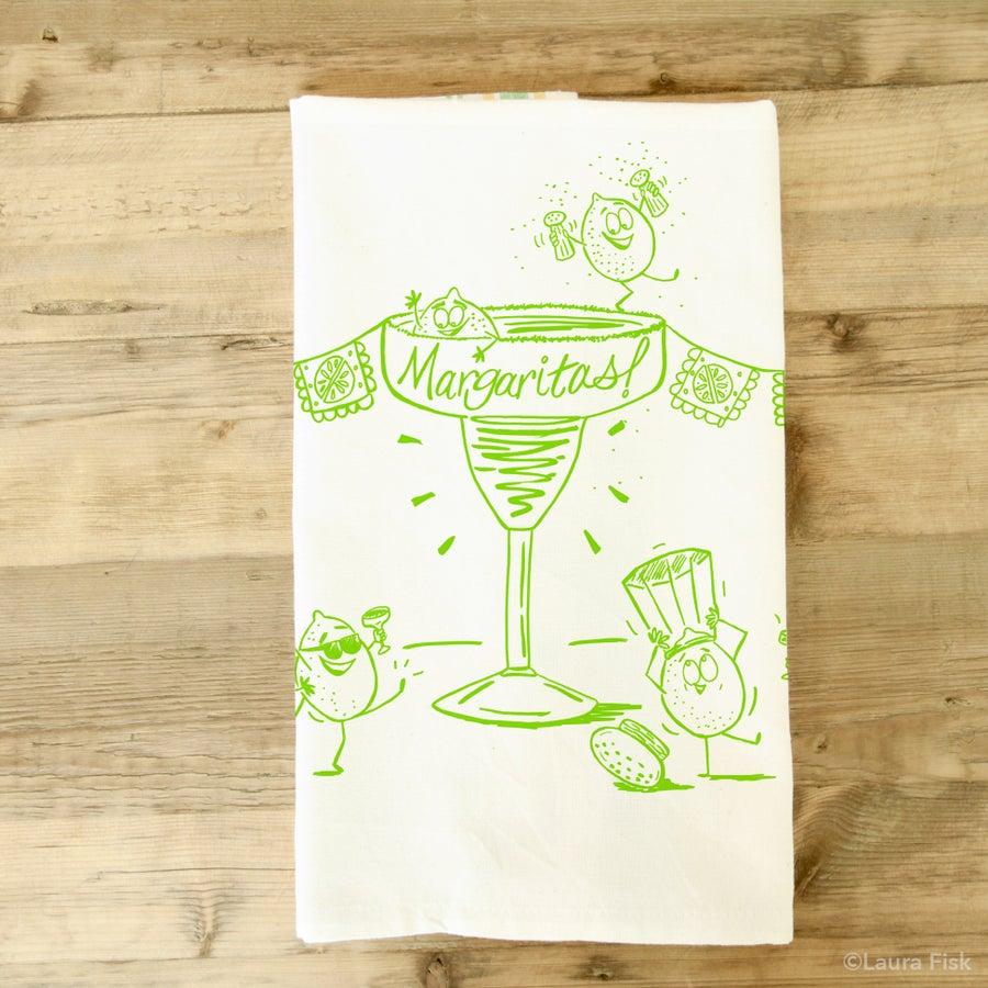 Image of Margaritas Tea Towel