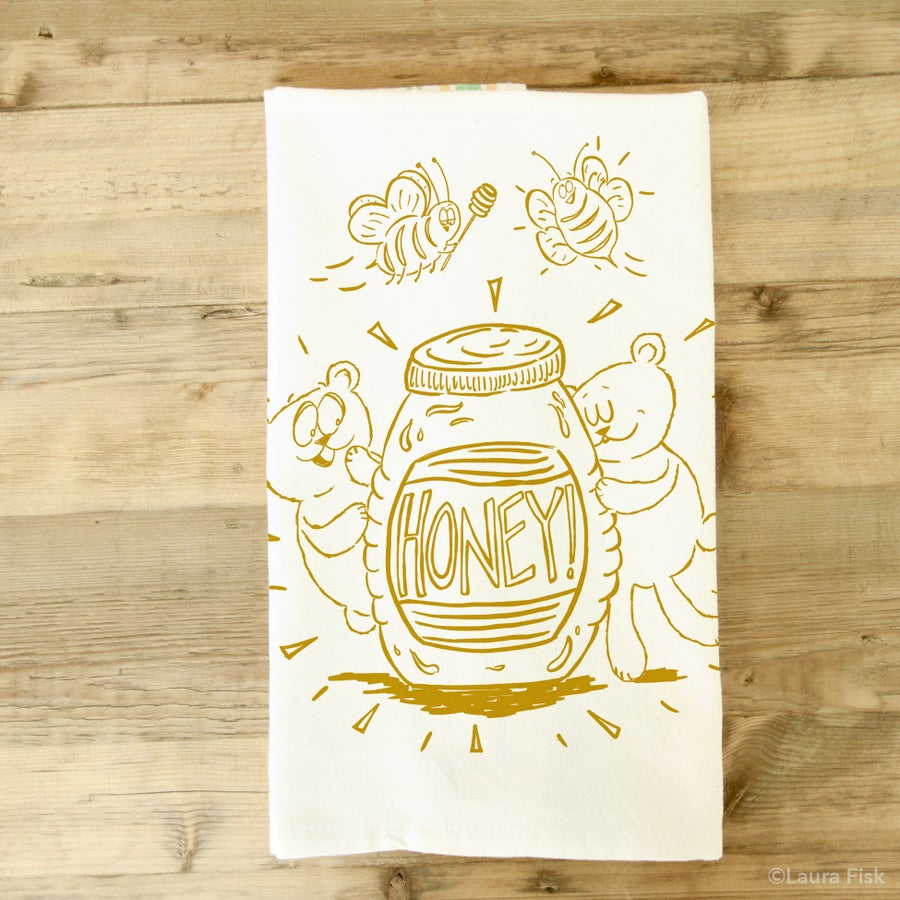 Image of Honey Tea Towel