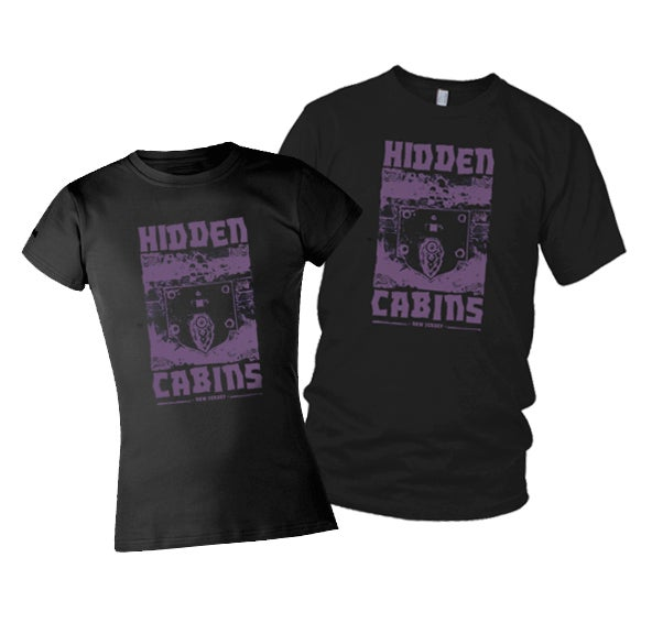 "Image of Hidden Cabins ""Lock"" Tee"
