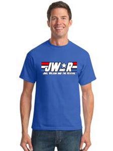 "Image of ""JW&R"" Blue T-shirts"