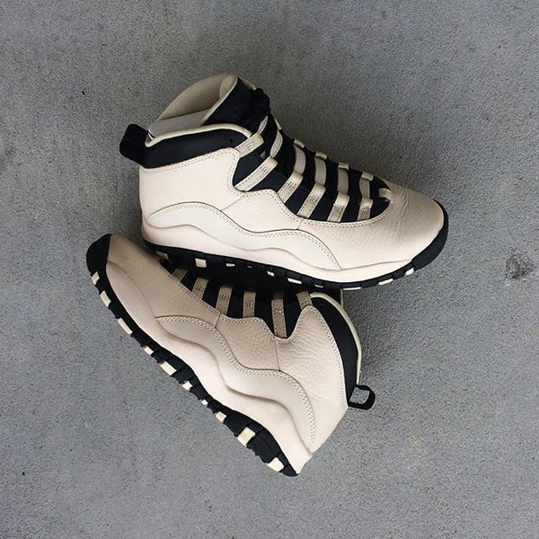 "Air Jordan X (10) Retro PRM GS ""Pearl White"" - areaGS - KIDS SIZE ONLY"