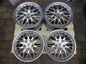 "Image of Genuine Porsche BBS Classic II 2-piece Split Rim 18"" 5x130 996 Alloy Wheels"