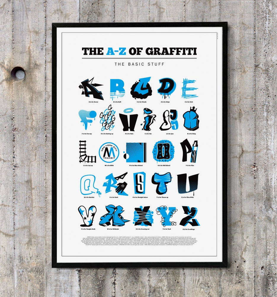 Image of Graffiti Alphabet Poster