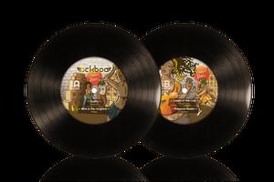 "Image of Pressure Riddim EP 12"" - 4 tracks: Taiwan MC, S'Kaya, ..."