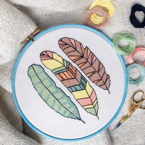 Image of Fly cross-stitch PDF pattern